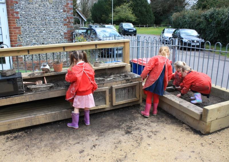Mud Kitchen For Schools