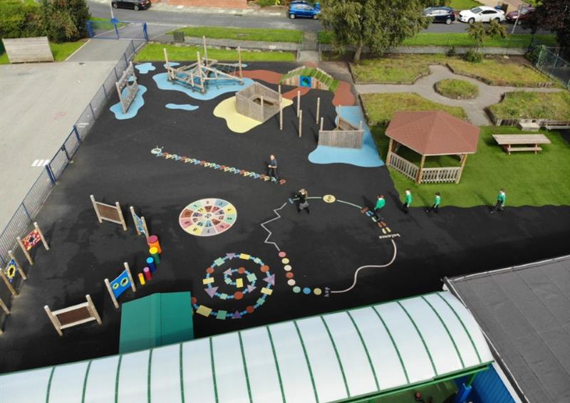 Playground surfacing ideas