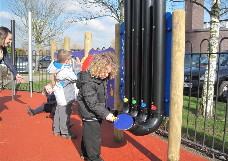 musical playground equipment