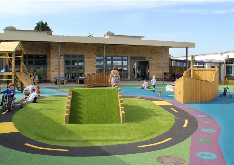 outdoor playground flooring