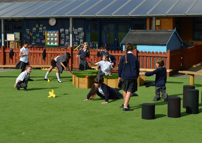outdoor playground surfacing