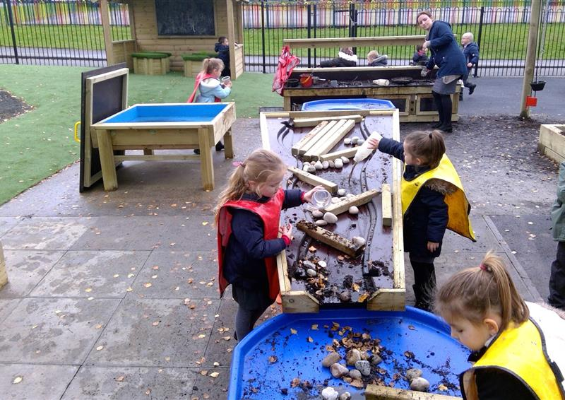messy play equipment