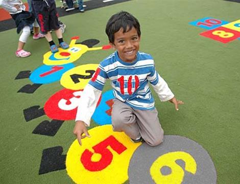 Outdoor Playground Carpet - Safeturf