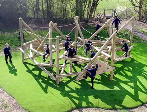 Outdoor Climbing Frames For Schools