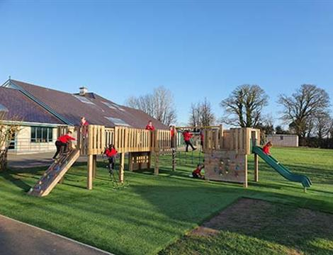 Playground Climbing Towers For Schools