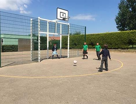 Goal Ends and Ball Chutes For Schools