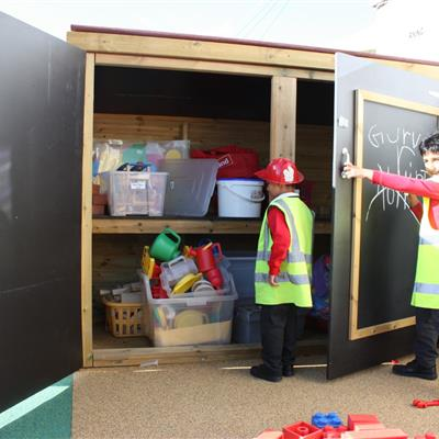 Playground Storage For Schools and Nurseries