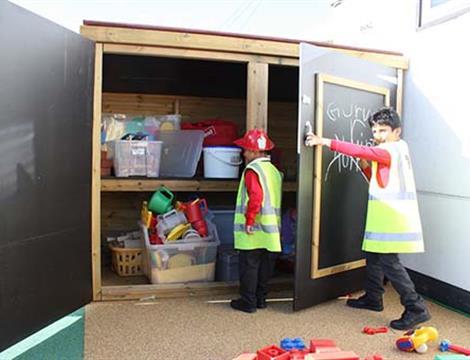 Playground Storage For Schools and Nurseries