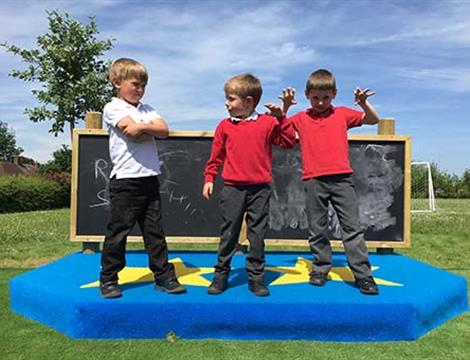 Playground Stages and Outdoor Stages For Schools