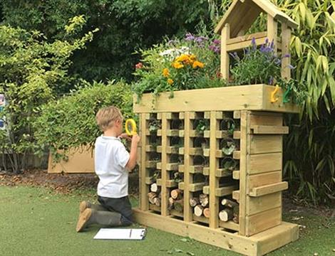 Natural Playground Equipment and Natural Play Areas