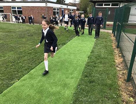 Daily Mile Tracks For Schools