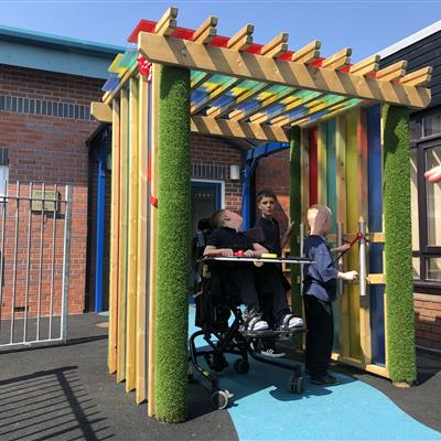 Outdoor Sensory Play Equipment For Schools and SEN