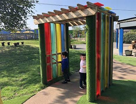 Outdoor Sensory Play Equipment For Schools and SEN
