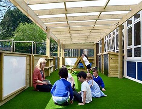 School Canopies and Outdoor Playground Shelters