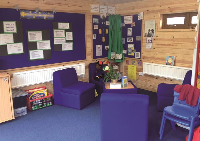 school log cabin