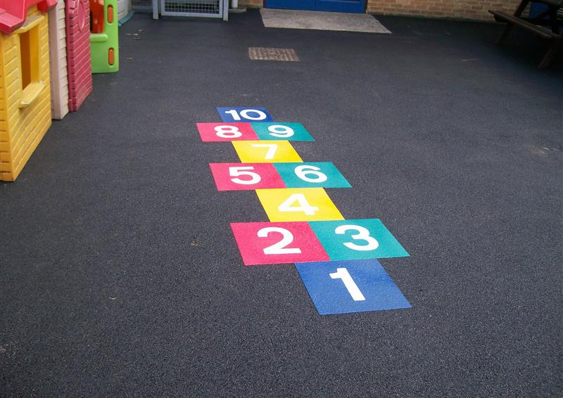 outdoor school markings