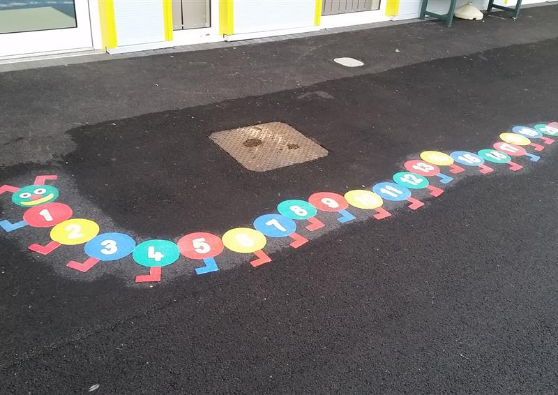 School playground marking
