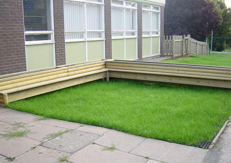 grass mats for playgrounds