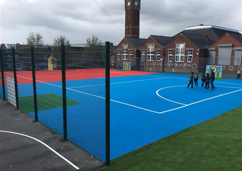 Multi use sport court