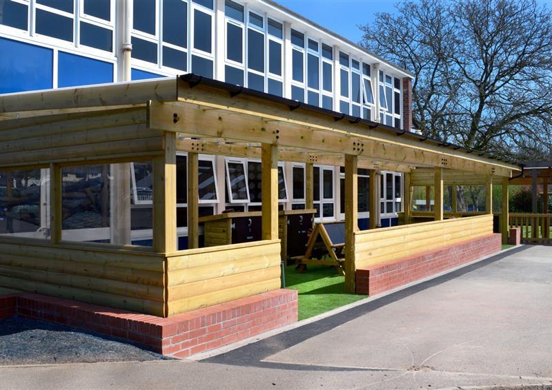 playground timber outdoor classroom