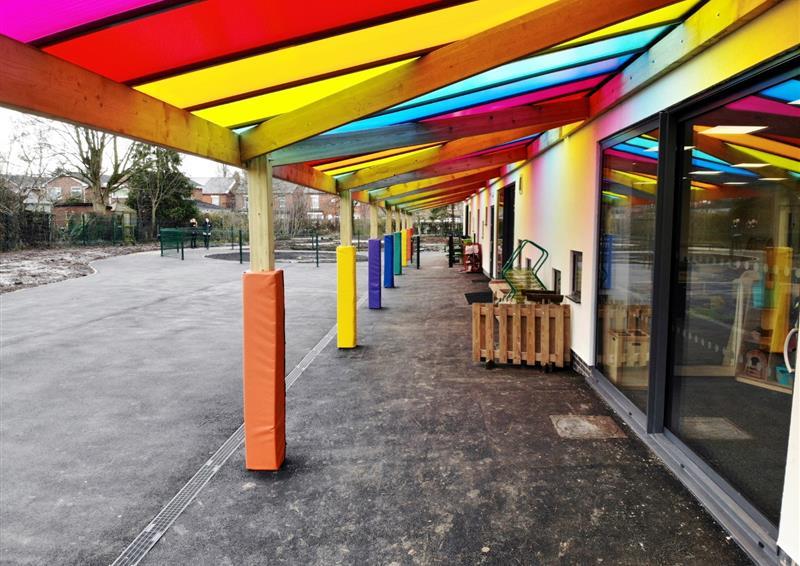 school timber canopies