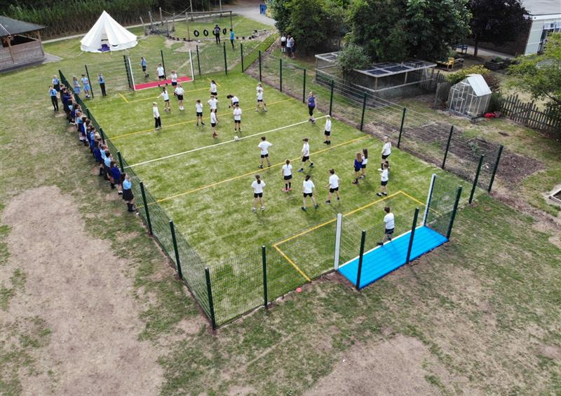 muga football pitch