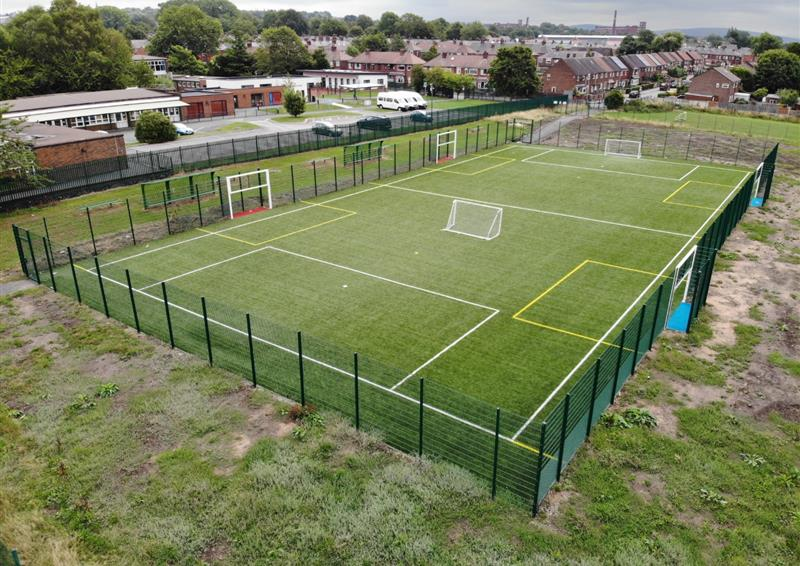 Multi Use Games Area Pitch