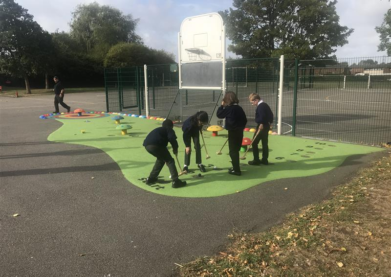 safety surfacing for school playgrounds