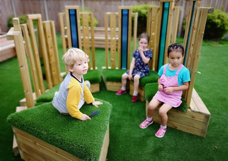 sensory playground equipment for sen and nursery