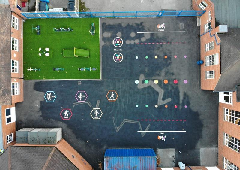 playground markings for schools