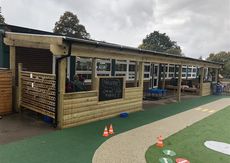 School Timber Canopy