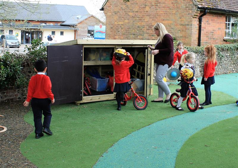Playground Storage Solutions