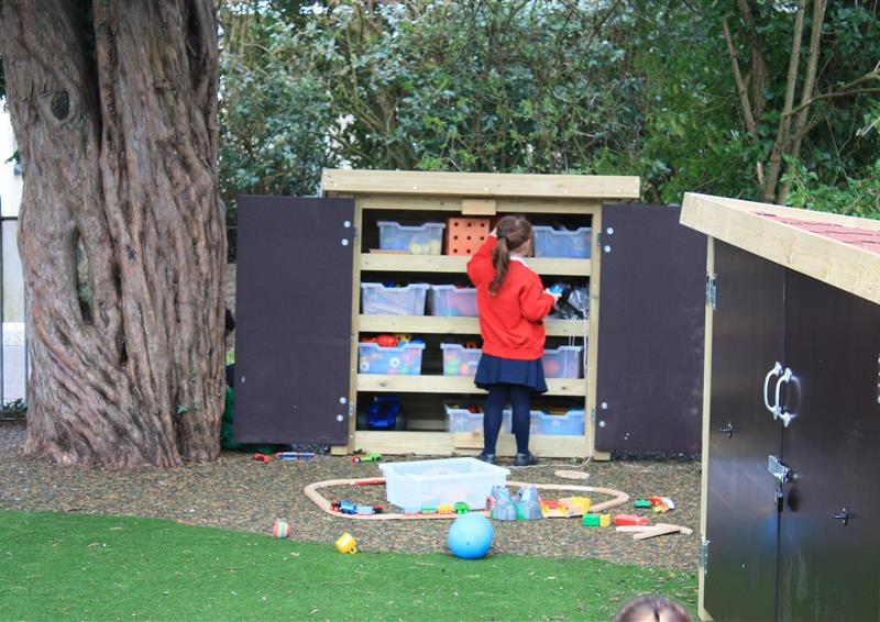 storage for school playgrounds