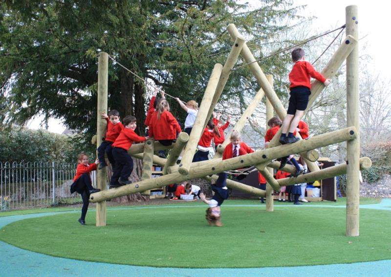 EYFS climbing frames