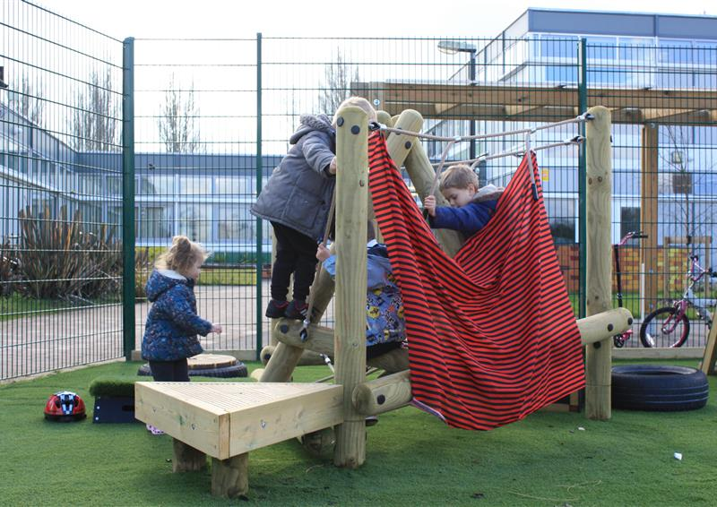 Preschool and Nursery Climbing Frames