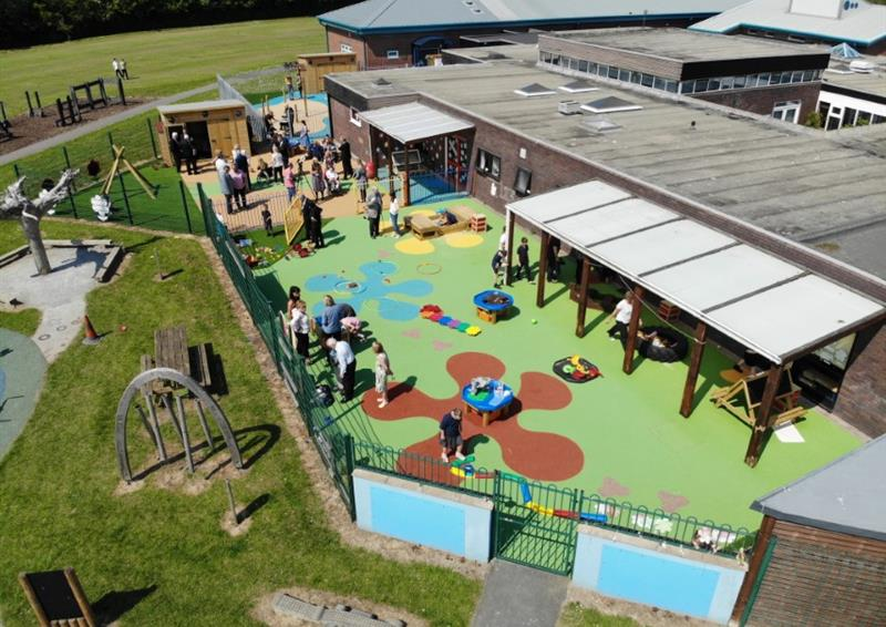 School Playground Safety Surfacing
