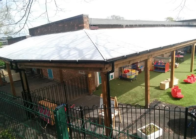 outdoor school canopies