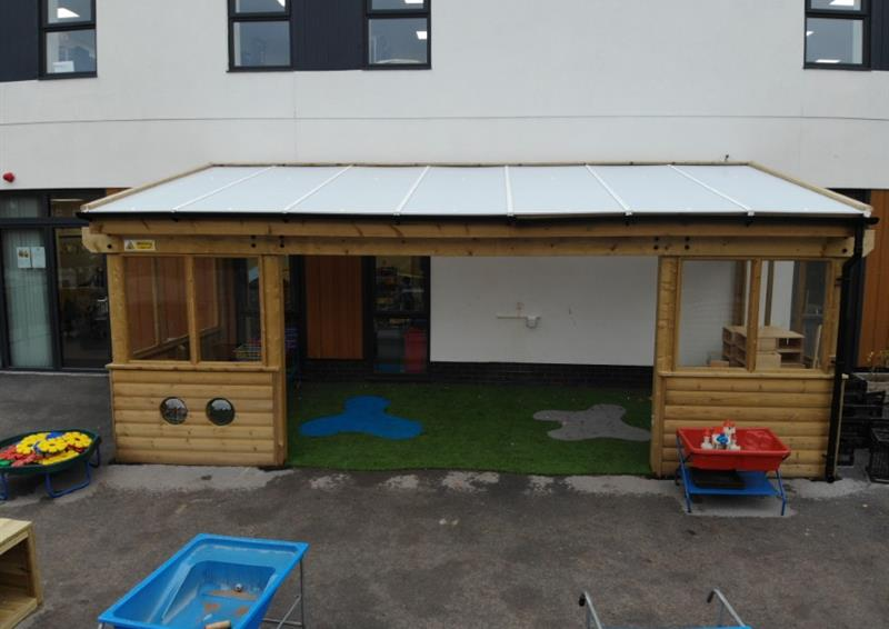 Playground canopies for schools