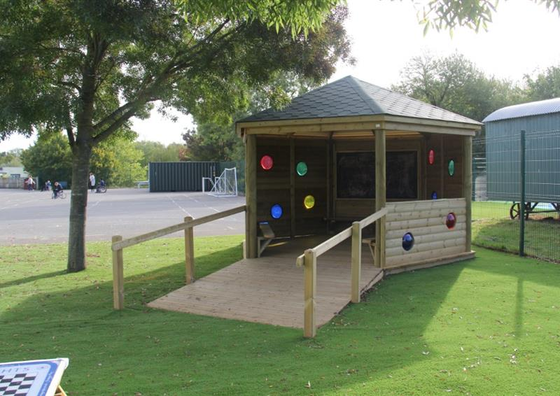 Sensory Outdoor Classrooms For Schools