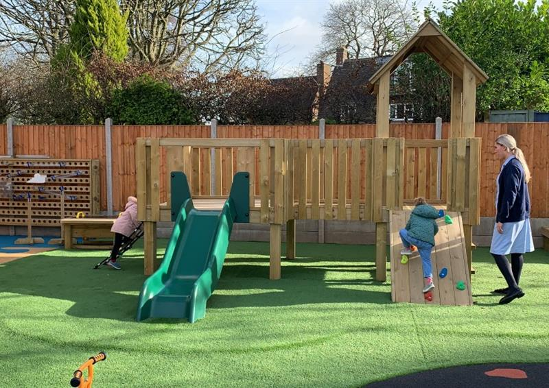 Outdoor Play Equipment For Nursery