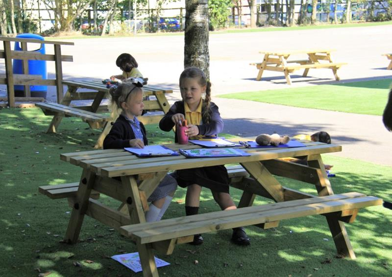 Playground Seating For Schools