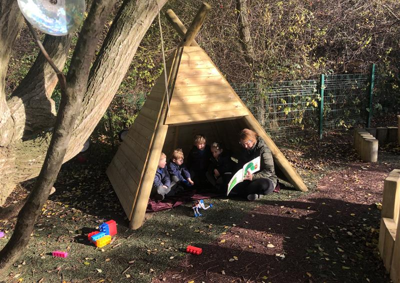 School Playground Dens