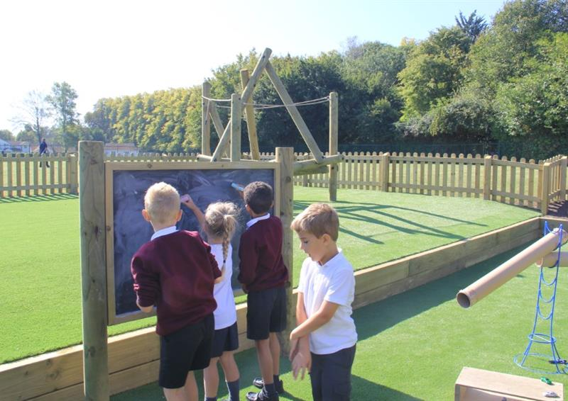Play panels for schools