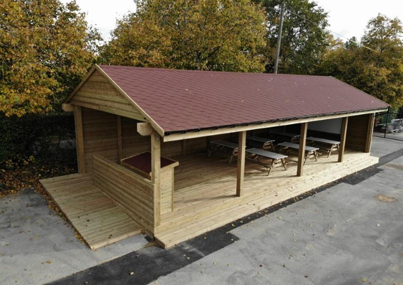 Gable End Outdoor Classrooms for Schools