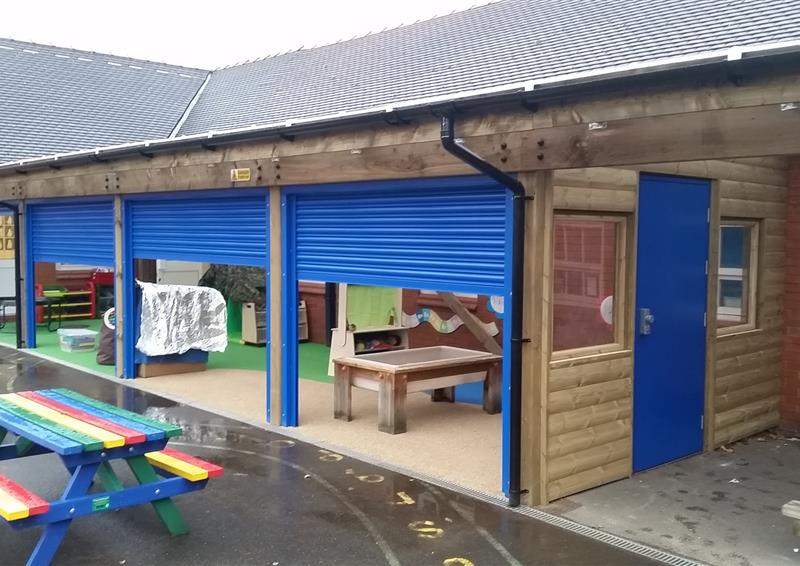 outdoor shelters for schools