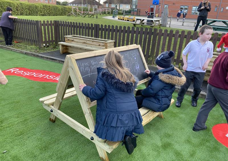 Easel Tables for School Playgrounds