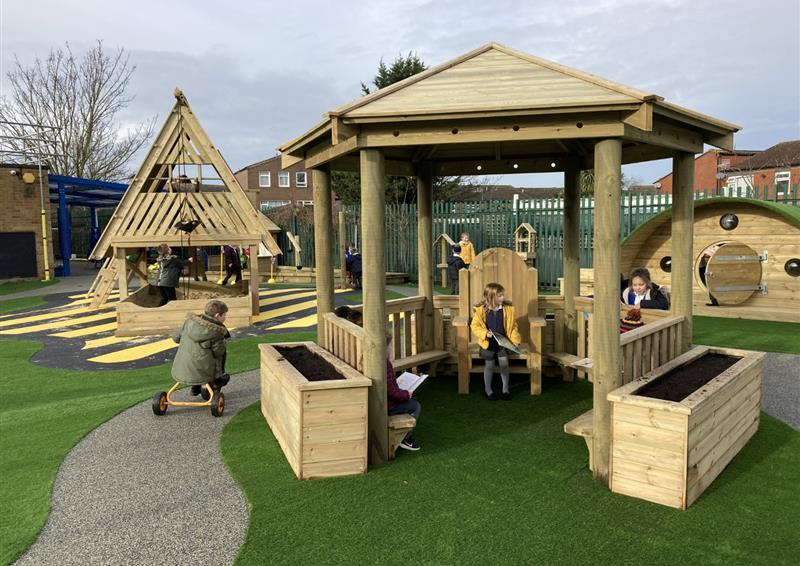 Playground Gazebos for Schools
