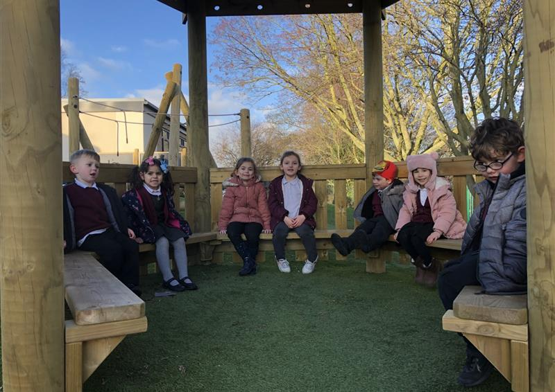 Timber Gazebos for School Playgrounds
