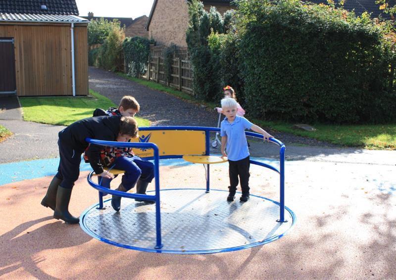 Kinetic Playground Equipment