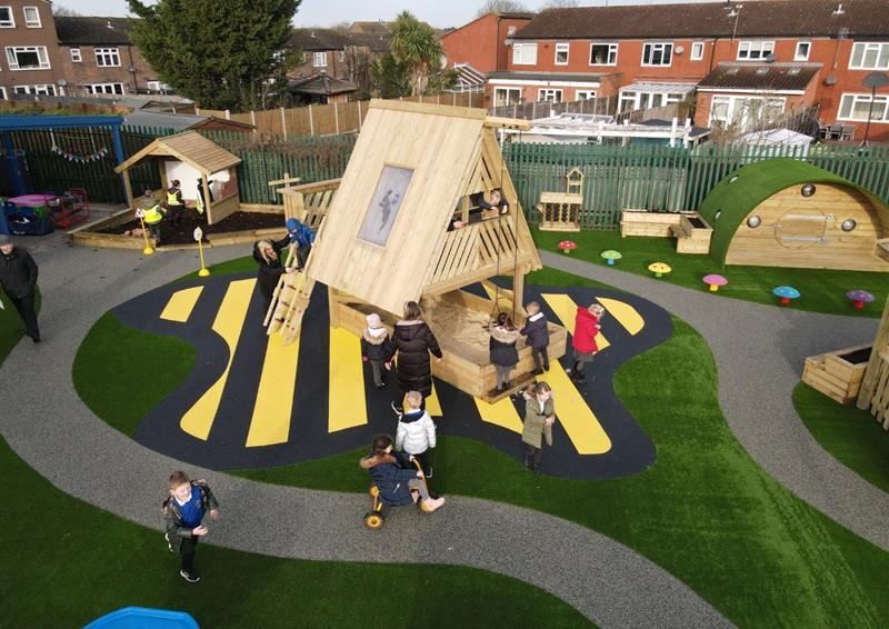 Wetpour Surfacing for Schools